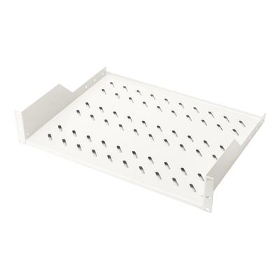 Digitus 2U fixed shelf for racks from 450 mm depth 88x482x349 mm, up to 25 kg, grey (RAL 7035) Rack toebehoren - .....