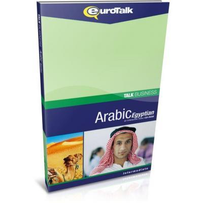 Eurotalk educatieve software: Talk Business, Leer Arabisch (Egyptisch) (Gemiddeld, Gevorderd)