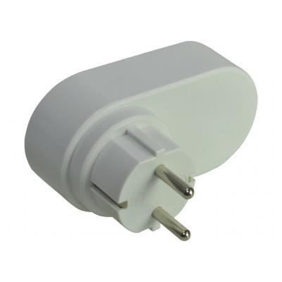 2-power oplader: EU USB Charger 3.4A Max Shared - Grijs