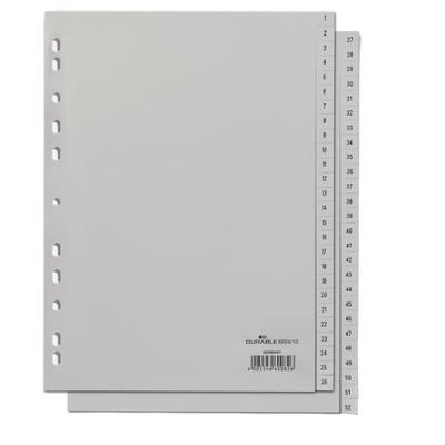Durable 650410 Indextab - Grijs