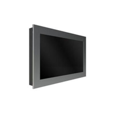 """Peerless In-Wall Kiosk Enclosure, 48"""", 34kg, Black TV standaard - Zwart"""