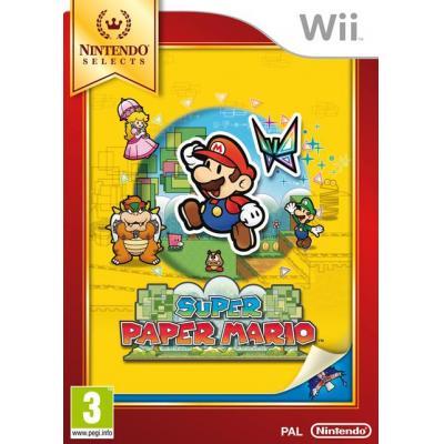 Nintendo game: Super Paper Mario, Wii