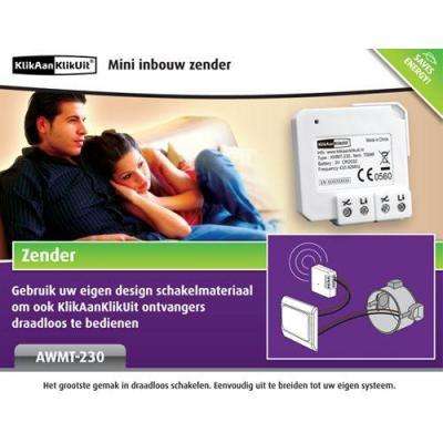 Klikaanklikuit afstandsbediening: AWMT-230 - Wit