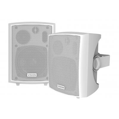 Vision Speaker: 2 x 12w, 4 ohms, 85dB, 100Hz-16kHz - Wit