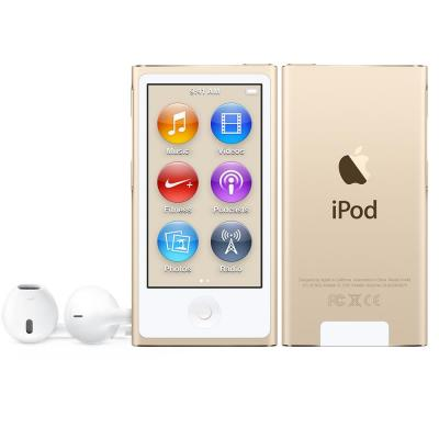 Apple MP3 speler: iPod Nano 16GB - Goud