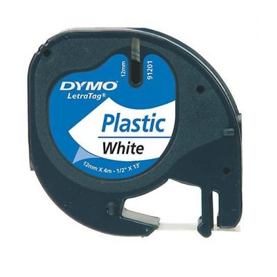 DYMO 12mm LetraTAG Plastic tape Labelprinter tape