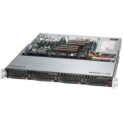 Supermicro SuperServer 6018R-MTR Server barebone - Zwart