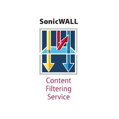 Dell firewall software: Content Filtering Service