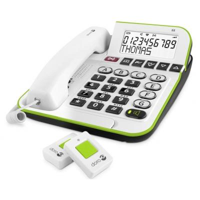 Doro dect telefoon: Secure 350 - Wit