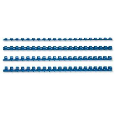 5star inbinder: Binding Combs Plastic 21 Ring, 45 Sheets, A4, 8mm Blue, pack of 100 - Blauw