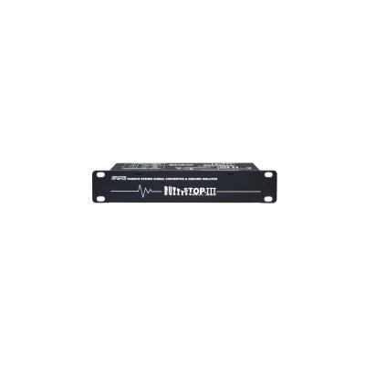 Apart audio converter: Universal signal convertor & ground isolator - Zwart