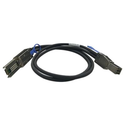 QNAP CAB-SAS30M-8644-8088 Kabel - Zwart, Metallic