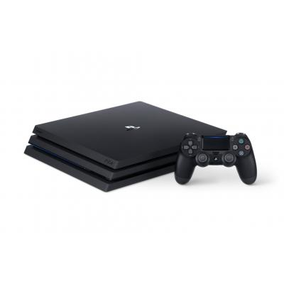 Sony spelcomputer: PlayStation 4, Console Pro (Black) + 1 TB + That's You (Voucher)  PS4