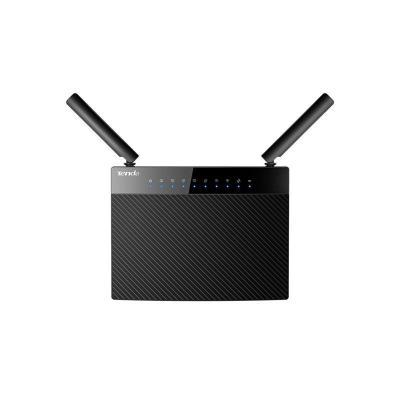 Tenda Gigabit Ethernet, 802.11ac/a/n 5GHz, 802.11b/g/n 2.4GHz, 2x 3dBi Antennas, 4+1 RJ-45, Black Wireless router .....