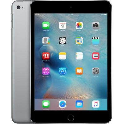 Apple tablet: iPad mini 4 Wi-Fi 64GB Space Gray - Grijs (Refurbished LG)
