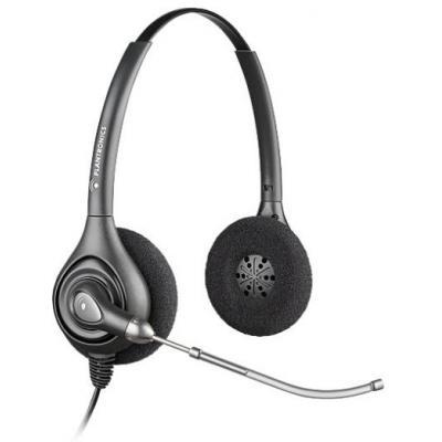 Plantronics headset: SupraPlus Wideband HW261/A - Zwart