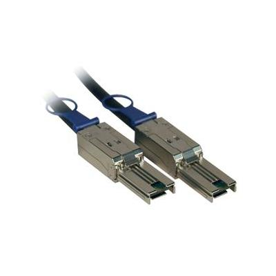 Fujitsu SAS cable SFF 8088 to 2xSFF 8088 5m Kabel - Zwart