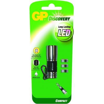 Gp batteries zaklantaarn: LCE604 - Zwart, Roestvrijstaal