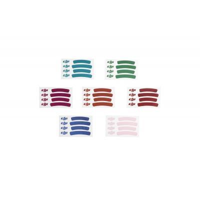 Dji : Phantom 3 Sticker Set (Sta) - Multi kleuren