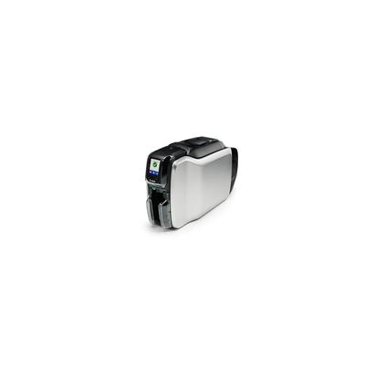 Zebra ZC300 Plastic kaart printer - Zwart, Zilver