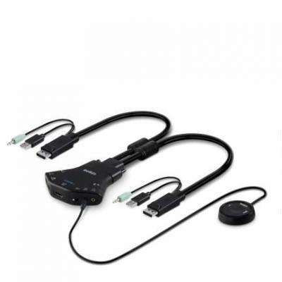 Belkin KVM kabel: Secure Flip 2-port Ultra High Def KVM