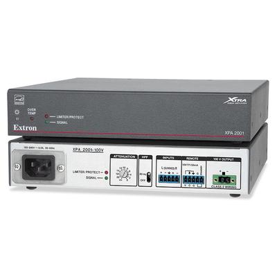 Extron XPA 2001-100V Audio versterker - Grijs, Wit