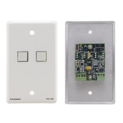 Kramer Electronics Kramer RC-2C RS-232 & IR controller Wandcontactdoos