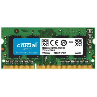 Crucial 4GB DDR3-1333 SO-DIMM CL9 RAM-geheugen