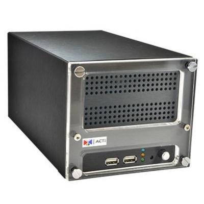 ACTi 16 ch, H.264, SATAa max 4TB, 2 x USB 2.0, 2 x RJ-45, Gigabit Ethernet, HDMI, 1320 g