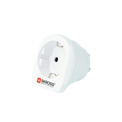 Skross 1.500209-E Stekker-adapter - Wit