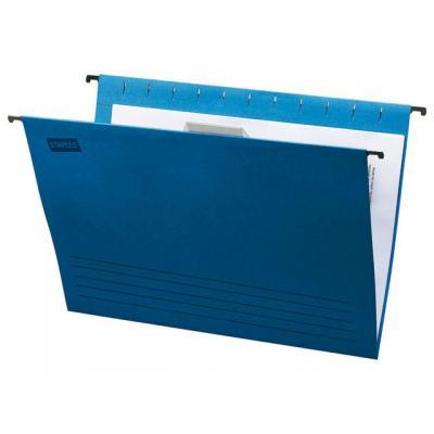 Staples hangmap: Hangmap SPLS fol m/r blauw 1123814/ds 25