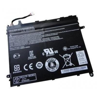 Acer batterij: Battery for Iconia Tab A510, A700 - Zwart