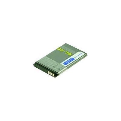 2-power batterij: Battery for Mobile Phone, Li-Ion, Grey - Grijs