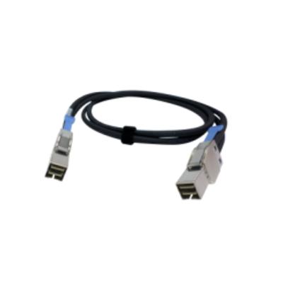 QNAP САВ-SAS20M-8644 Kabel - Zwart, Metallic