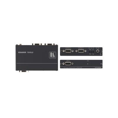 Kramer Electronics 1:2 Computer Graphics Video Distribution Amplifier Signaalversterker TV - Zwart