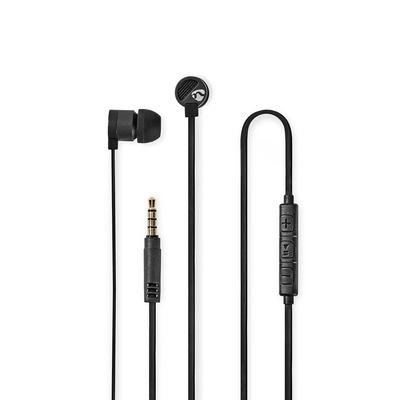 Nedis HPWD5021GY Headset - Grijs, Zwart