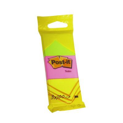 Post-it zelfklevend notitiepapier: 6812PI zelfklevend notitiepapier - Groen, Roze, Geel