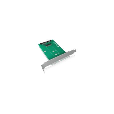 ICY BOX IB-CVB516 Interfaceadapter - Groen