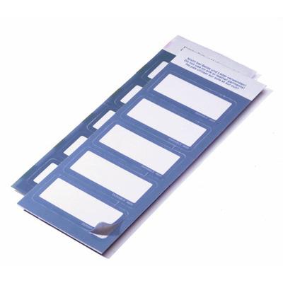 Durable 8605-06 Badge - Blauw, Wit