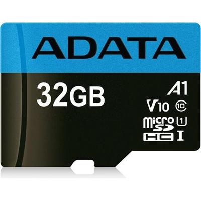 ADATA 32GB, microSDHC, Class 10 Flashgeheugen - Zwart, Blauw