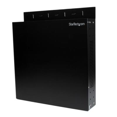Startech.com rack: Wandmonteerbare serverrack 2U - Zwart