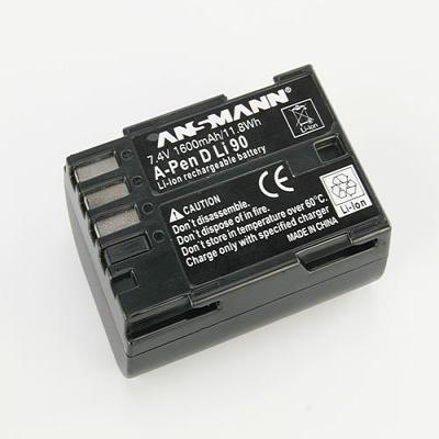 Ansmann A-Pen D-Li 90 - Zwart