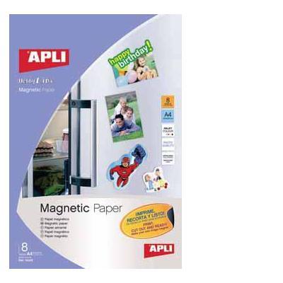 Apli papier: PK.8 VEL MAGNET.PAPIER A4