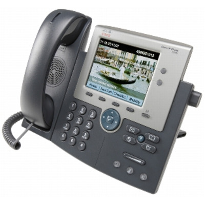 Cisco dect telefoon: Unified IP Phone 7945G w/ 1 CCME User License - Grijs
