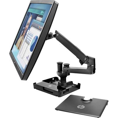 HP Hot Desk-standaard Notebooksteun - Zwart
