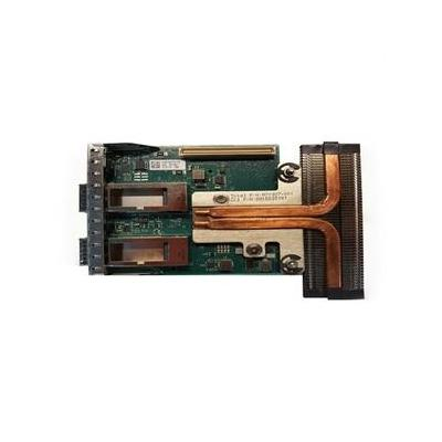 Dell netwerkkaart: Intel XL710 Dual poort40 GbE QSFP+ rNDC Serveradapter Ethernet PCIe - Full-Height