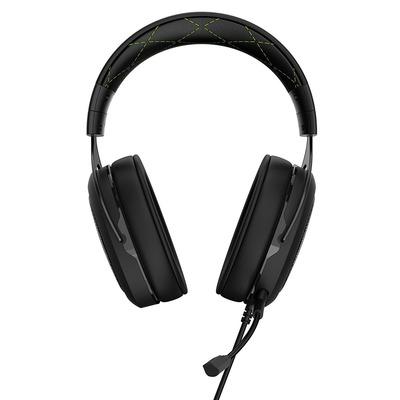 Corsair HS50 Headset - Zwart, Groen