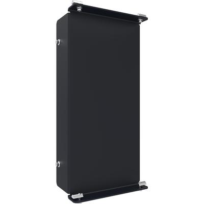 SmartMetals Statiefkop voor 2 aluminium profielen Muur & plafond bevestigings accessoire - Zwart