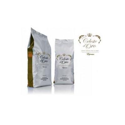 Celeste d'oro koffie: Chiaro espresso bonen 8x1000 gram