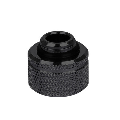 """Thermaltake Pacific G1/4 PETG Tube 5/8"""" (16mm) OD Adapter, Black Cooling accessoire - Zwart"""